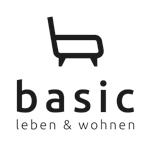 Basic-Berlin // basic – leben & wohnen Logo